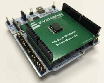 Evaluation Board - Serial Peripheral Interface (SPI) MRAM Products